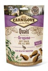 Carnilove Semi-Moist Snack Quail & Oregano 200g
