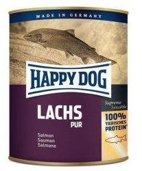12x Happy Dog Lachs Puszka 100% Łosoś 800g