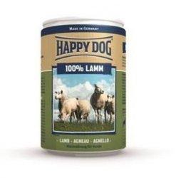 12x Happy Dog Lamm Puszka 100% Jagnię 400g