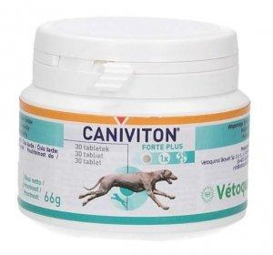 Vetoquinol Caniviton Forte Plus 30 tabletek