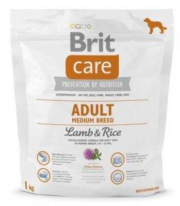 Brit Care Adult Medium Breed Lamb and Rice 1kg