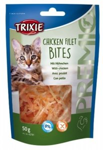 Trixie Premio Chicken Filets Bites - filety z kurczaka 50g