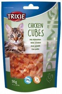 Trixie Premio Chicken Cubes - z kurczakiem 50g