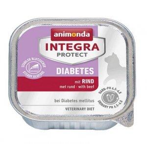 Animonda Integra Protect Diabetes dla kota - z wołowiną tacka 100g