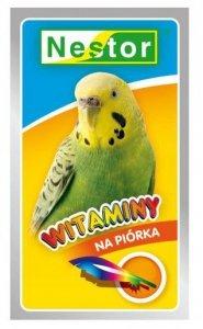 Nestor Witaminy dla małych papug - na piórka