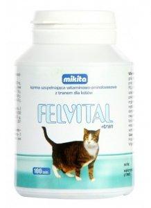 Mikita Felvital + Tran 100 tabletek