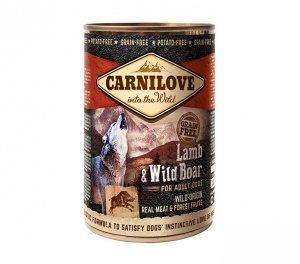Carnilove Lamb and Wild Boar Adult 400g