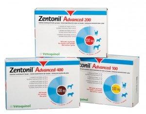Vetoquinol Zentonil Advanced 400mg 30 tabletek