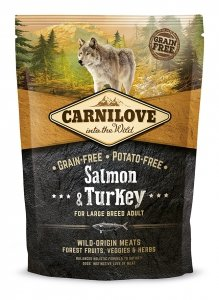Carnilove Salmon and Turkey Large Breed Adult 1,5kg