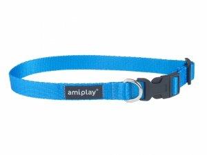 Amiplay Obroża Basic S 20-35/1cm niebieska