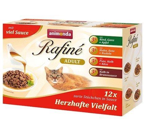 Animonda Rafiné Soupé Multipack Herzhafte saszetki 12x100g
