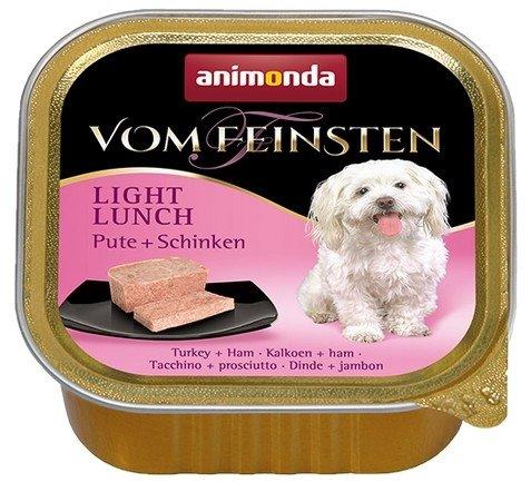 Animonda vom Feinsten Light Lunch Indyk i Szynka 150g