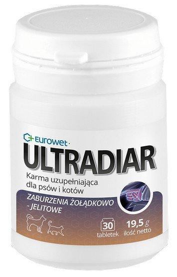 Eurowet Ultradiar - żołądek 30 tabletek