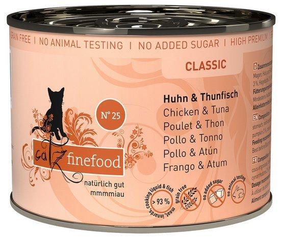Catz Finefood N.25 Kurczak i Tuńczyk puszka 200g