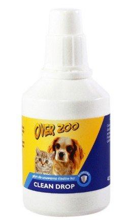Over Zoo Clean Drop usuwa ślady łez 40ml