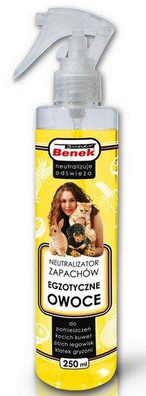 Certech Benek Neutralizator Spray - Egzotyczne owoce 250ml