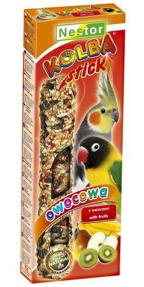 Nestor Kolba Papuga średnia owocowa 2szt