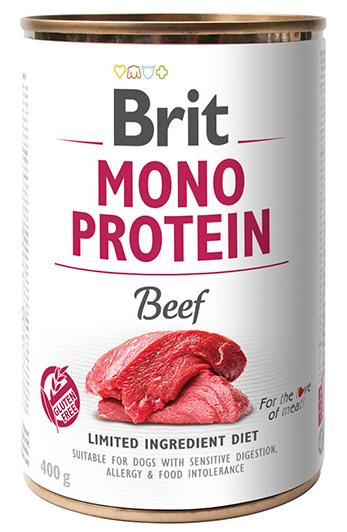 Brit Mono Protein Beef 400g - wołowina