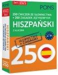 250 ćwiczeń ze słownictwa Hiszpański + 250 zagadek