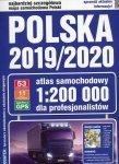 Polska 2019/2020 Atlas samochodowy 1:200 000 dla profesjonalistów