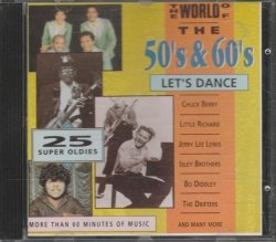 The World Of The 50's & 60's Let's Dance CD