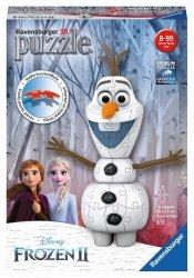 Puzzle 3D Kraina Lodu 2 Olaf 54