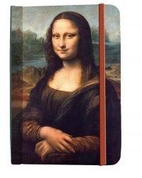 Notatnik Leonardo da Vinci - Mona Lisa