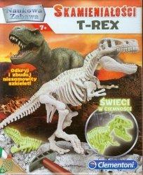 Skamieniałości T-rex