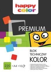 Blok techniczny Premium kolorowy A3 10 arkuszy 10 sztuk