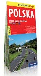 Polska mapa samochodowa 1:675 000
