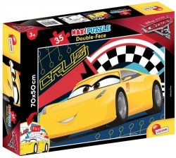 Puzzle dwustronne maxi 35 Auta 3 Race ready