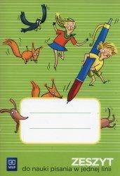 Zeszyt do nauki pisania w jednej linii