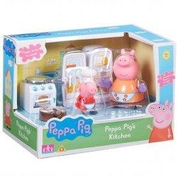 Świnka Peppa kuchnia + figurki