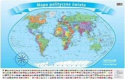 Świat Polityczny Podkładka na biurko i pod mysz dla dzieci