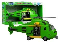 Helikopter ratunkowy z linką i hakiem