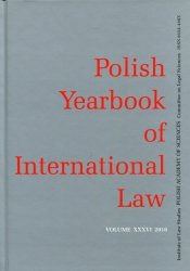 Polish Yearbook of International Law XXXVI 2016