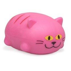 Uroczy kotek do ściskania gniotek - różowy