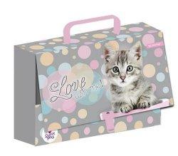 Teczka z rączką - Walizeczka - Kot The Sweet Pets