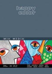 Blok Mix Media Happy Color A3 25 arkuszy