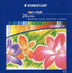 Pastele olejne jumbo Noris Club 24 kolory