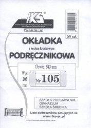 Okładka książkowa regulowana nr 105 50 sztuk mix