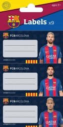 Naklejki na zeszyt FC Barcelona 9/1 100 sztuk