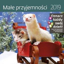 Kalendarz wieloplanszowy Małe przyjemności 30x30 2019