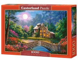 Puzzle 1000 Cottage in the Moon Garden