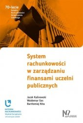 System rachunkowości w zarządzaniu finansami uczelni publicznych