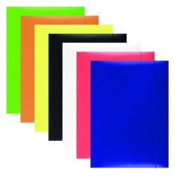 Teczka z gumką A4 Office Poducts A4 mix kolorów 25 sztuk