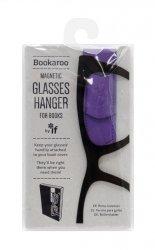 Bookaroo Glasses hanger - uchwyt na okulary do książki fioletowy