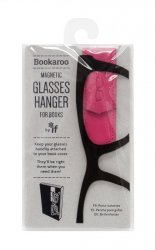 Bookaroo Glasses hanger - uchwyt na okulary do książki różowy