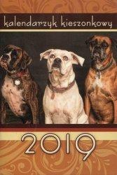 Kalendarz 2019 Kieszonkowy tektura Pies