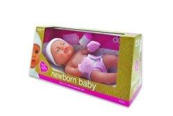 Lalka bobas Newborn Baby Dziewczynka 38 cm